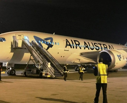 Air Austral cancel all flights to CAN until 1st March 2020