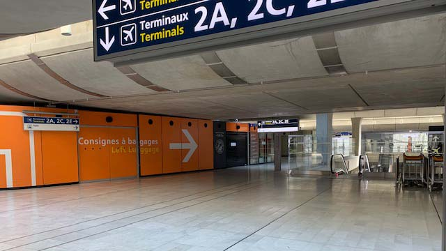 No more passengers in the second terminal of Europe's Largest Airport
